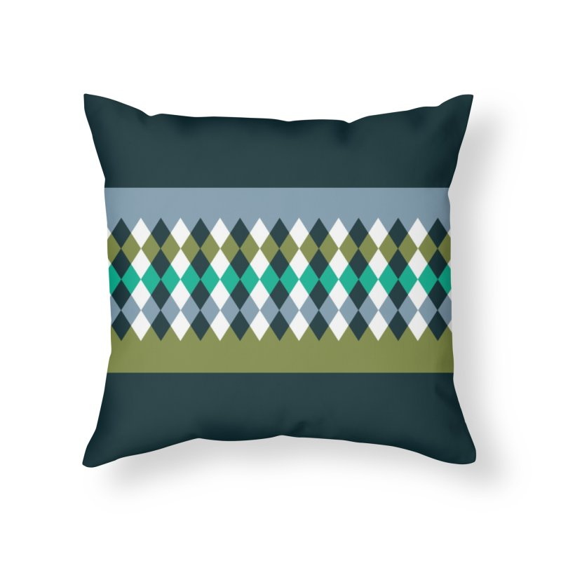 Countryside Pattern #3 Home Throw Pillow by YANMOS