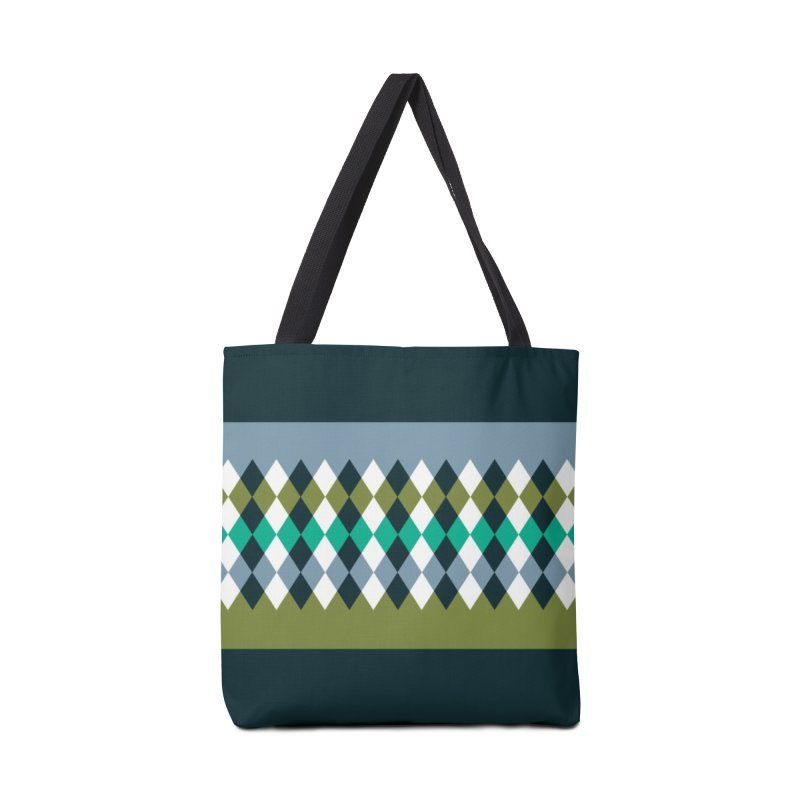 Countryside Pattern #3 Accessories Tote Bag Bag by YANMOS