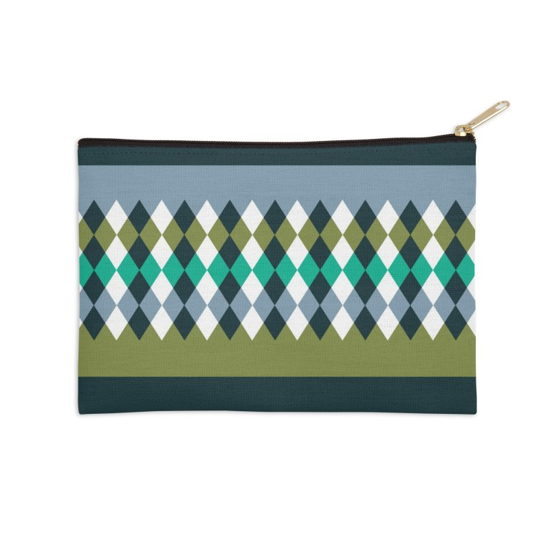 Countryside Pattern #3 Accessories Zip Pouch by YANMOS
