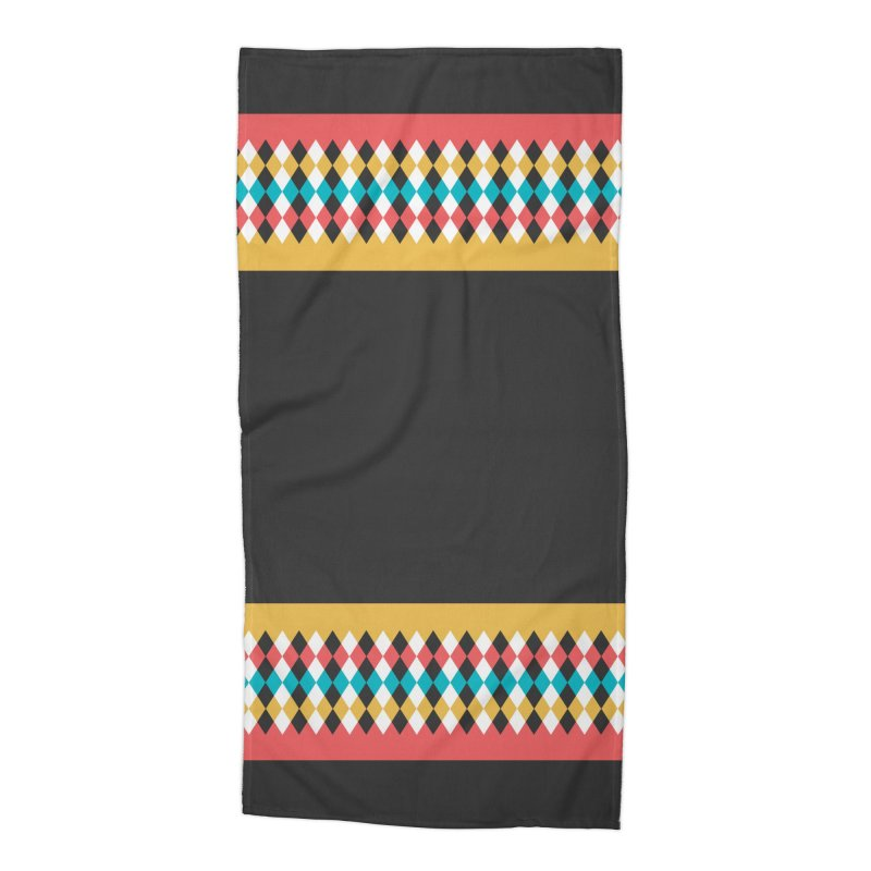 Countryside Pattern #4 Accessories Beach Towel by YANMOS
