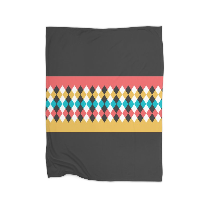 Countryside Pattern #4 Home Blanket by YANMOS
