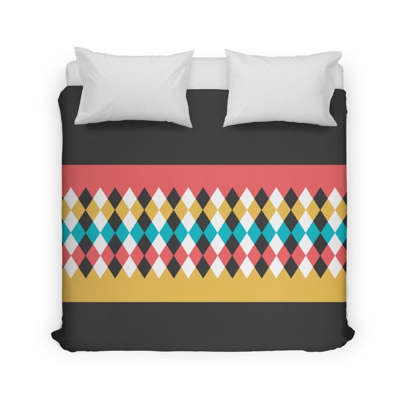 Countryside Pattern #4 Home Duvet by YANMOS