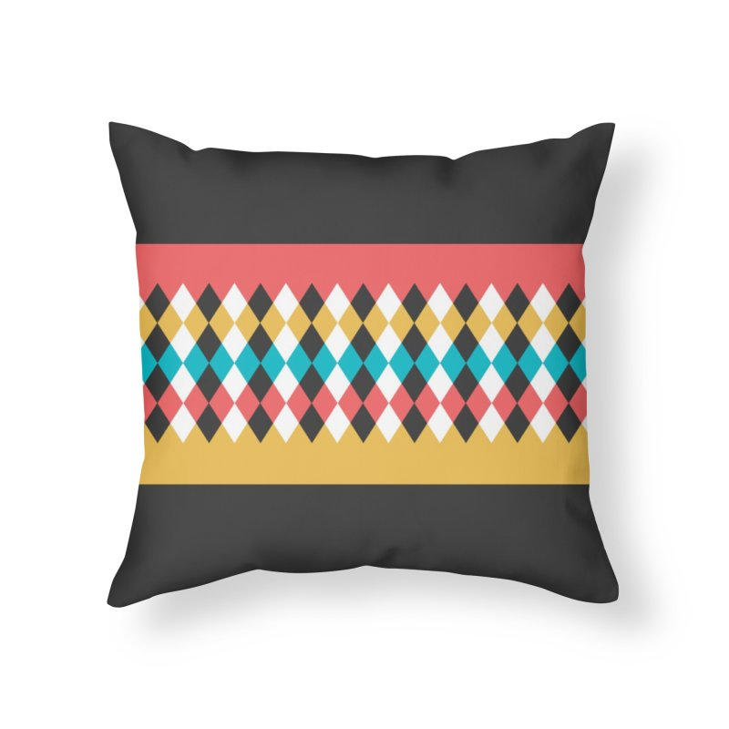 Countryside Pattern #4 Home Throw Pillow by YANMOS