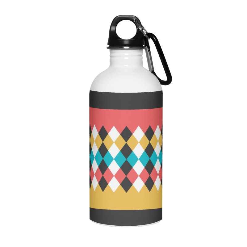 Countryside Pattern #4 Accessories Water Bottle by YANMOS