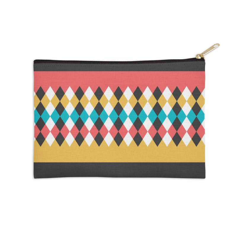 Countryside Pattern #4 Accessories Zip Pouch by YANMOS