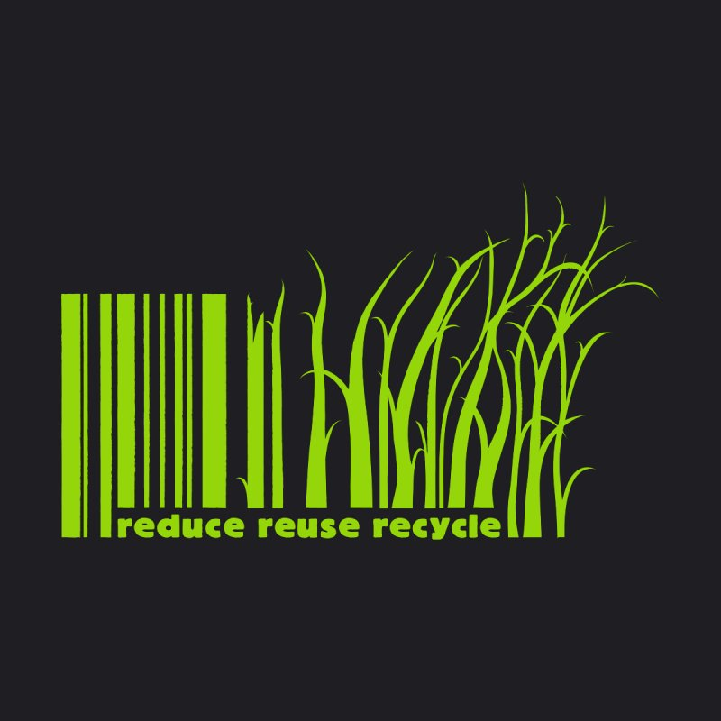 Reduce Reuse Recycle Men's V-Neck by YANMOS