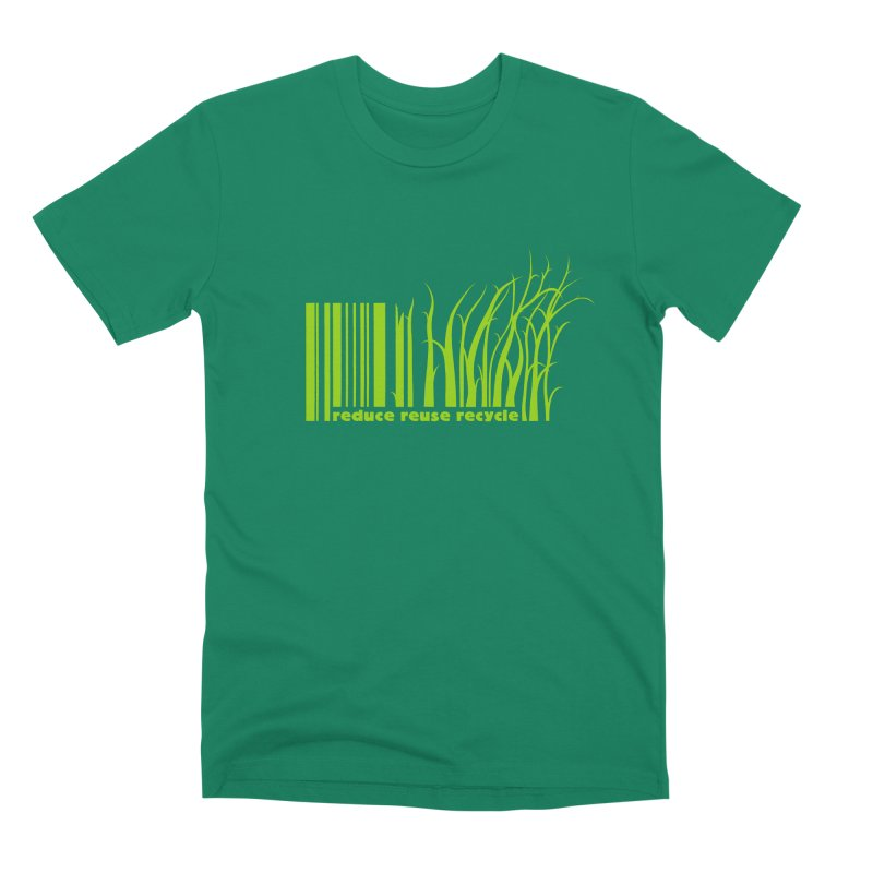 Reduce Reuse Recycle Men's T-Shirt by YANMOS
