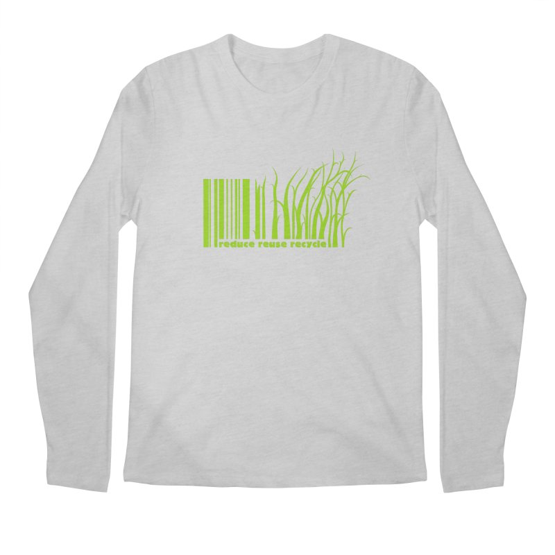 Reduce Reuse Recycle Men's Longsleeve T-Shirt by YANMOS