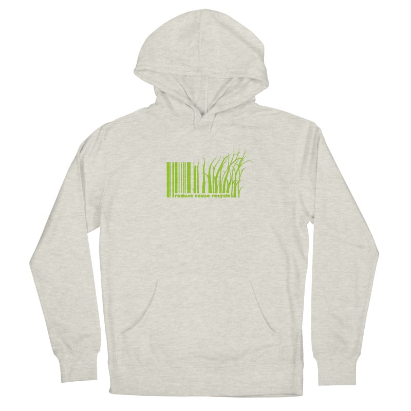 Reduce Reuse Recycle Men's Pullover Hoody by YANMOS