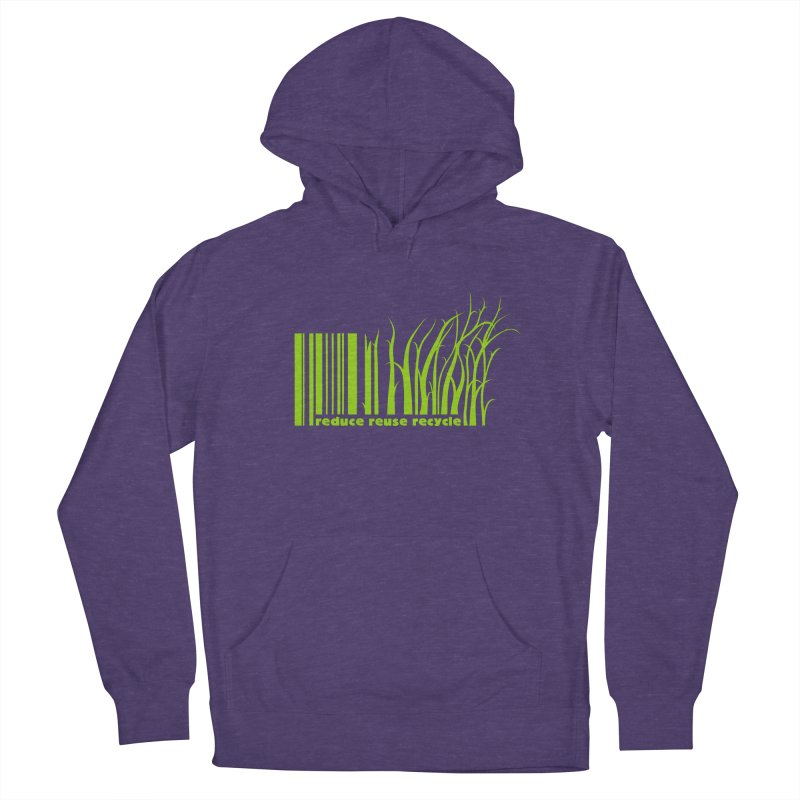 Reduce Reuse Recycle Women's Pullover Hoody by YANMOS