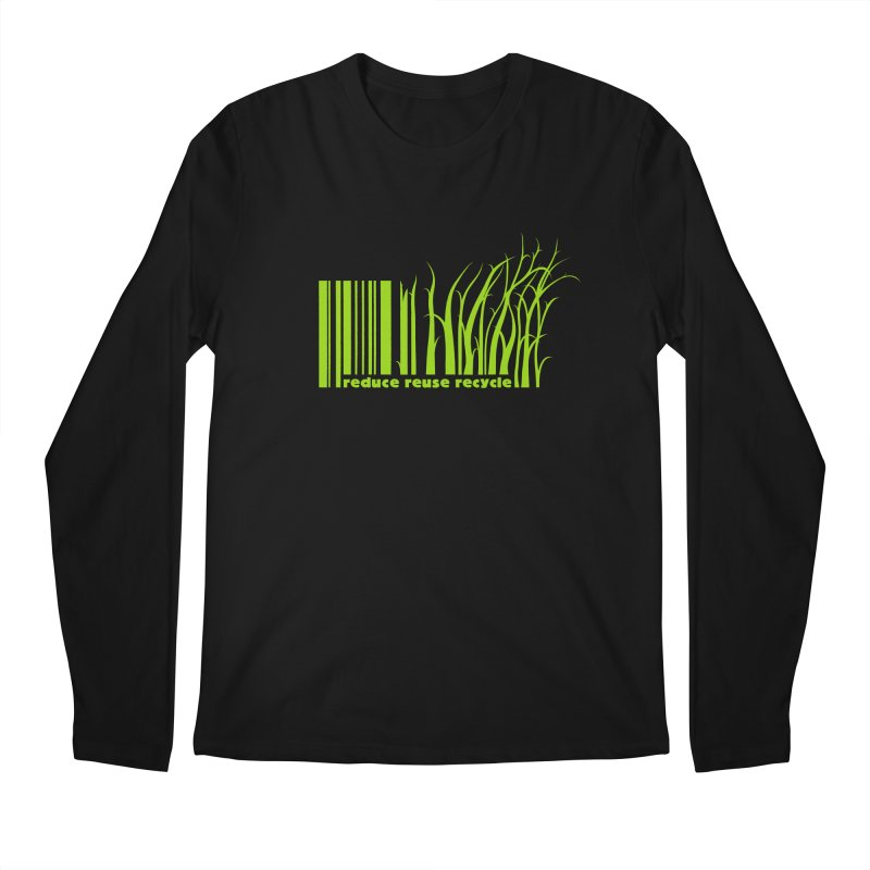 Reduce Reuse Recycle Men's Regular Longsleeve T-Shirt by YANMOS