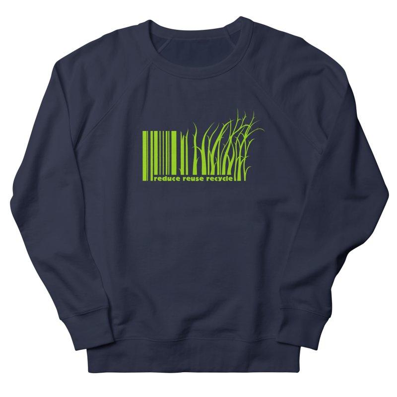 Reduce Reuse Recycle Men's Sweatshirt by YANMOS