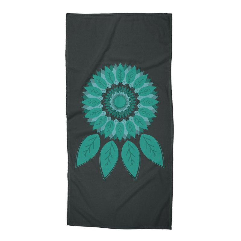 Dreamcatcher Accessories Beach Towel by YANMOS
