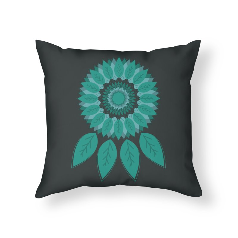 Dreamcatcher Home Throw Pillow by YANMOS