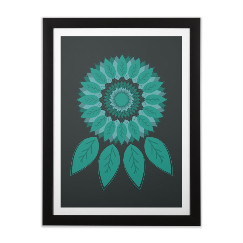 Dreamcatcher Home Framed Fine Art Print by YANMOS
