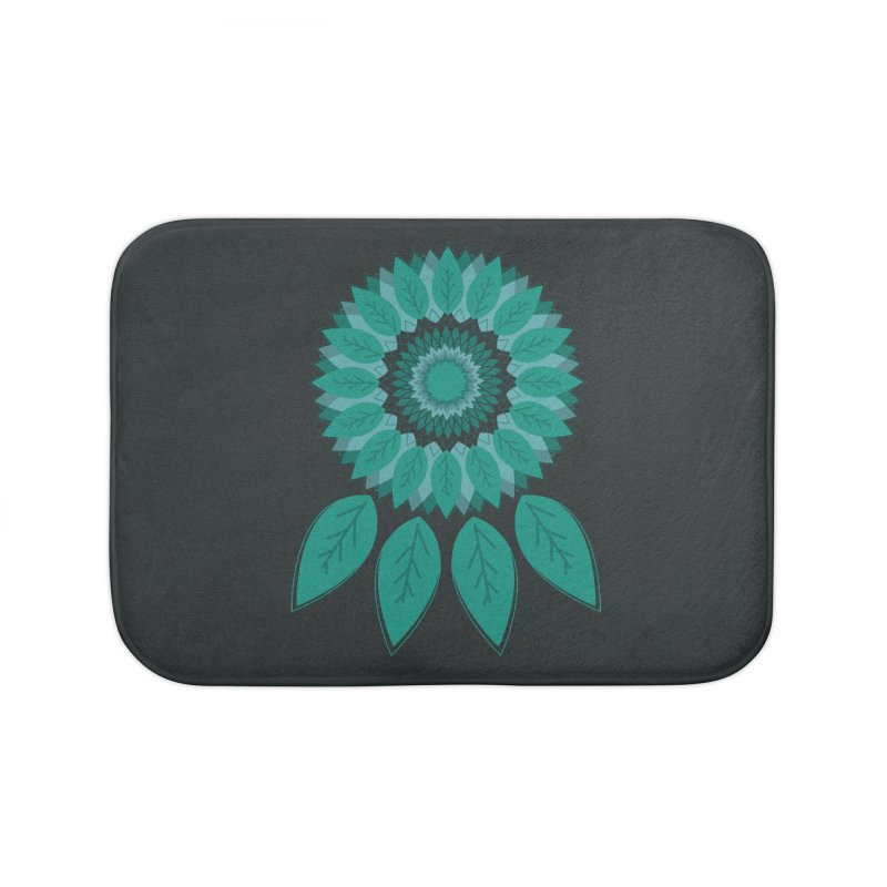 Dreamcatcher Home Bath Mat by YANMOS