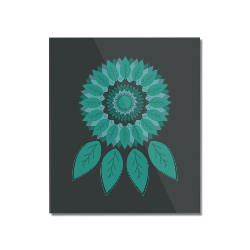 Dreamcatcher Home Mounted Acrylic Print by YANMOS