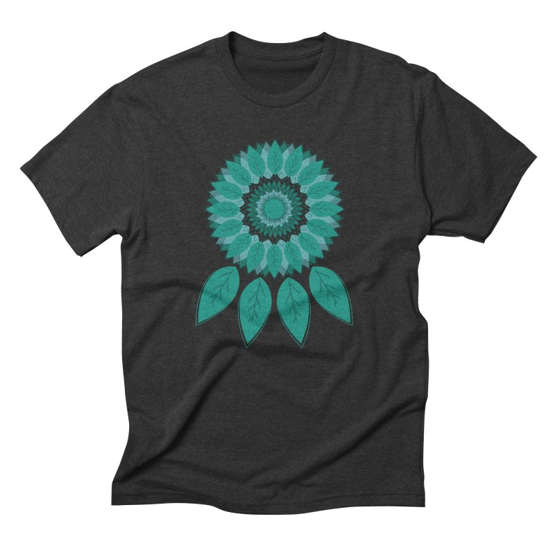 Dreamcatcher in Men's Triblend T-Shirt Heather Onyx by YANMOS