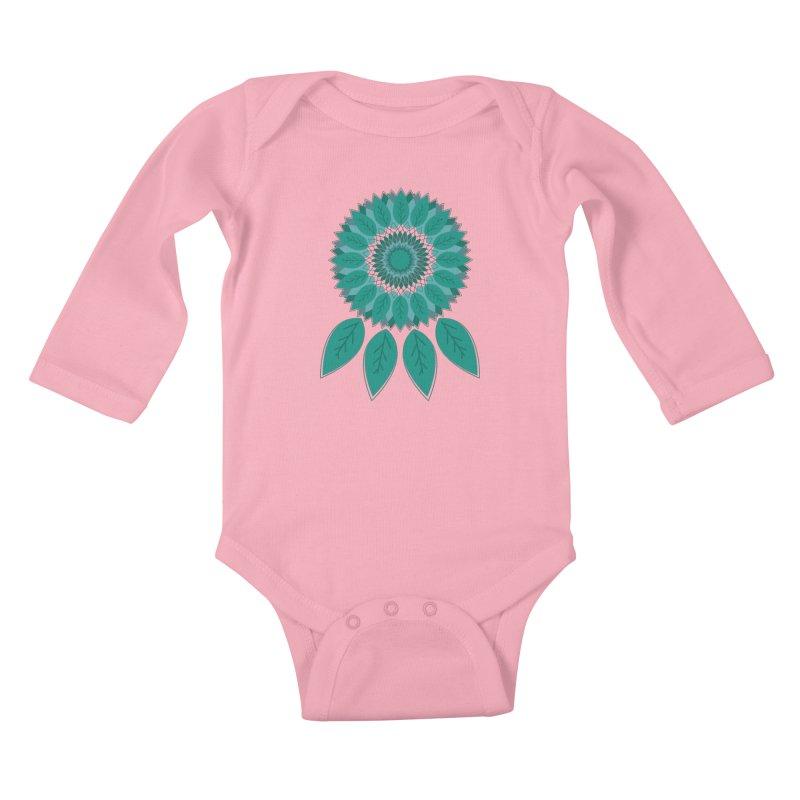 Dreamcatcher Kids Baby Longsleeve Bodysuit by YANMOS