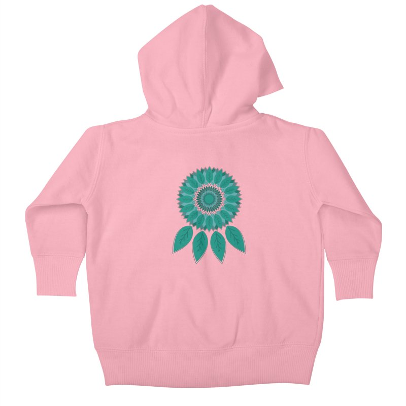 Dreamcatcher Kids Baby Zip-Up Hoody by YANMOS