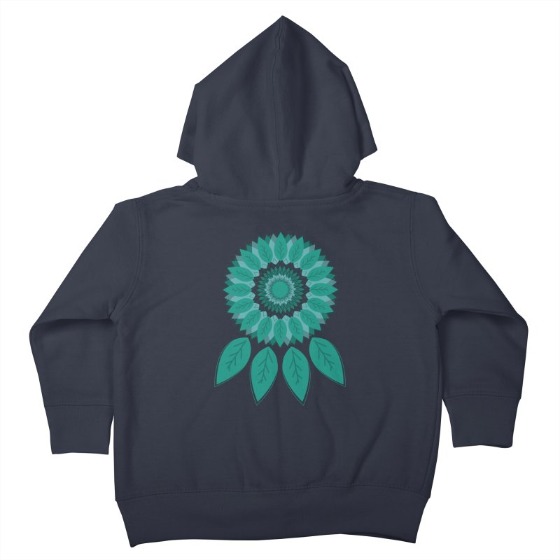 Dreamcatcher Kids Toddler Zip-Up Hoody by YANMOS