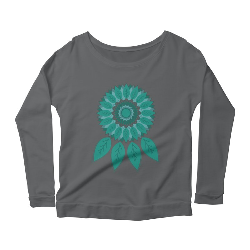 Dreamcatcher Women's Longsleeve Scoopneck  by YANMOS