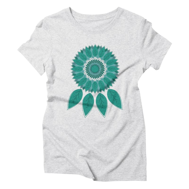 Dreamcatcher Women's Triblend T-Shirt by YANMOS