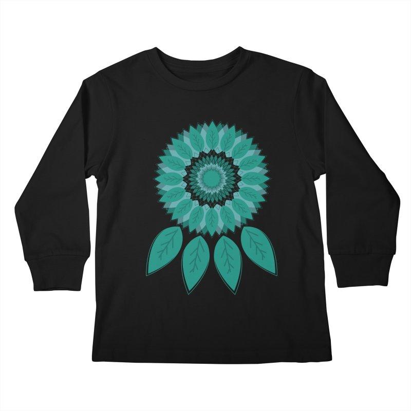 Dreamcatcher Kids Longsleeve T-Shirt by YANMOS