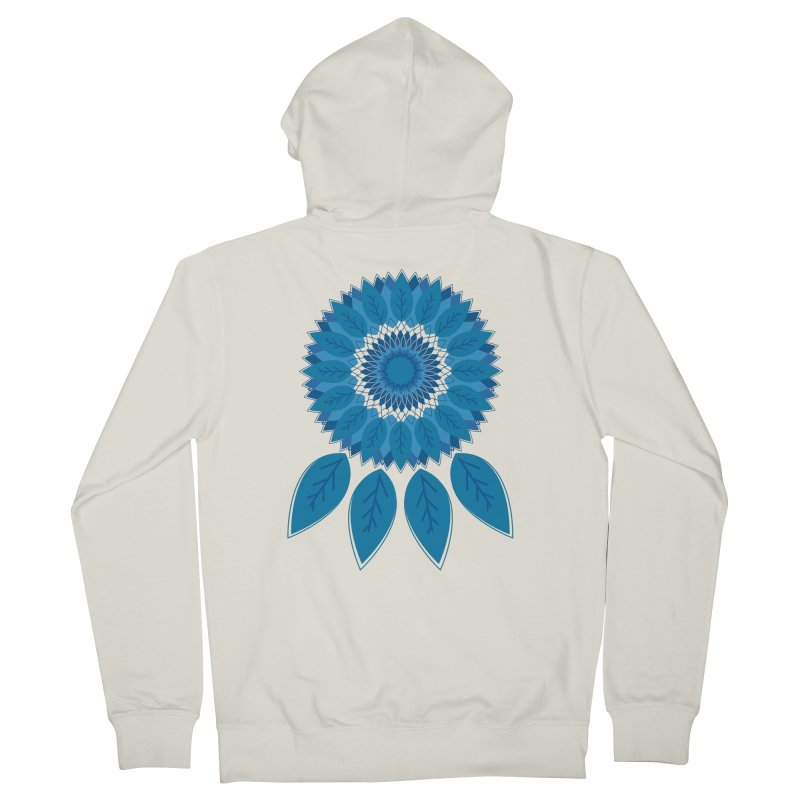 Dreamcatcher Men's French Terry Zip-Up Hoody by YANMOS