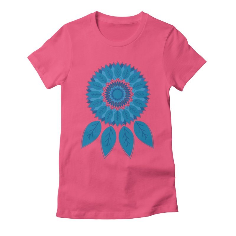 Dreamcatcher Women's Fitted T-Shirt by YANMOS