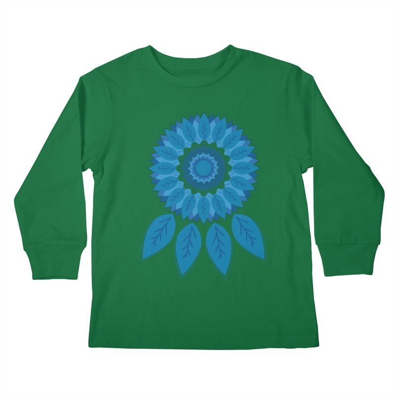 Dreamcatcher Kids Longsleeve T-Shirt by YANMOS