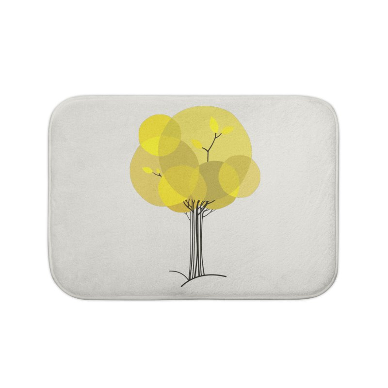Autumn tree Home Bath Mat by YANMOS