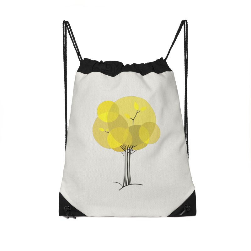 Autumn tree Accessories Drawstring Bag Bag by YANMOS
