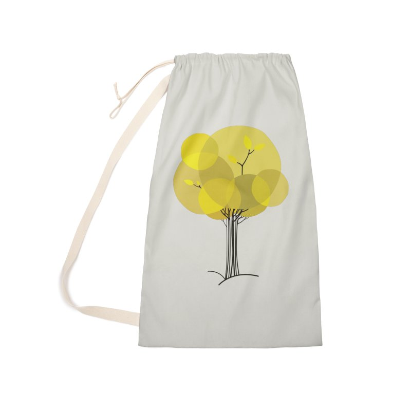 Autumn tree Accessories Laundry Bag Bag by YANMOS