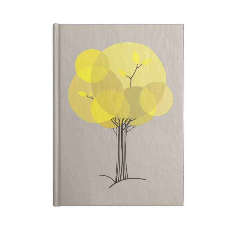 Autumn tree Accessories Notebook by YANMOS