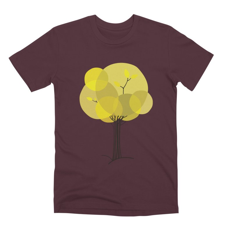 Autumn tree Men's Premium T-Shirt by YANMOS