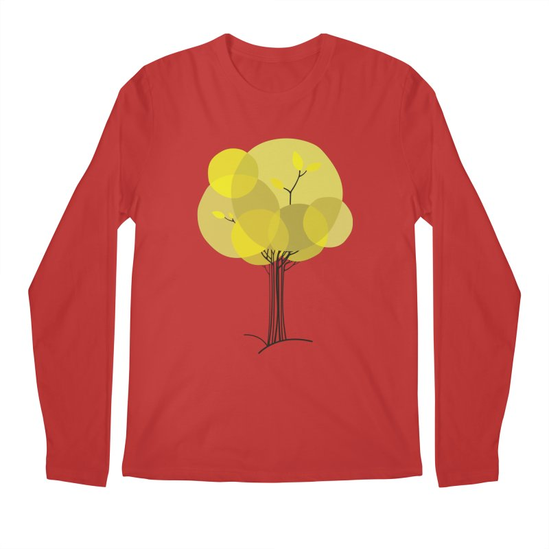 Autumn tree Men's Longsleeve T-Shirt by YANMOS