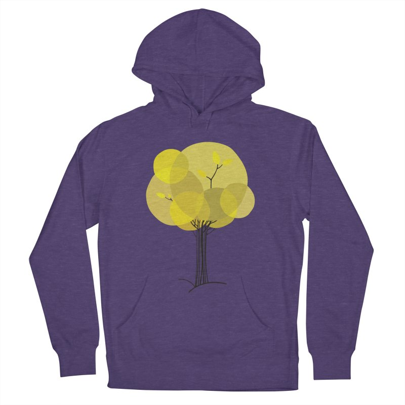 Autumn tree Women's French Terry Pullover Hoody by YANMOS