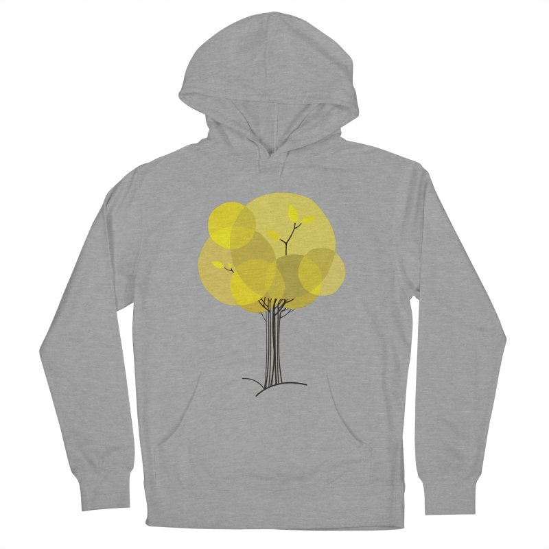Autumn tree Men's French Terry Pullover Hoody by YANMOS