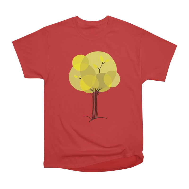 Autumn tree Men's Heavyweight T-Shirt by YANMOS