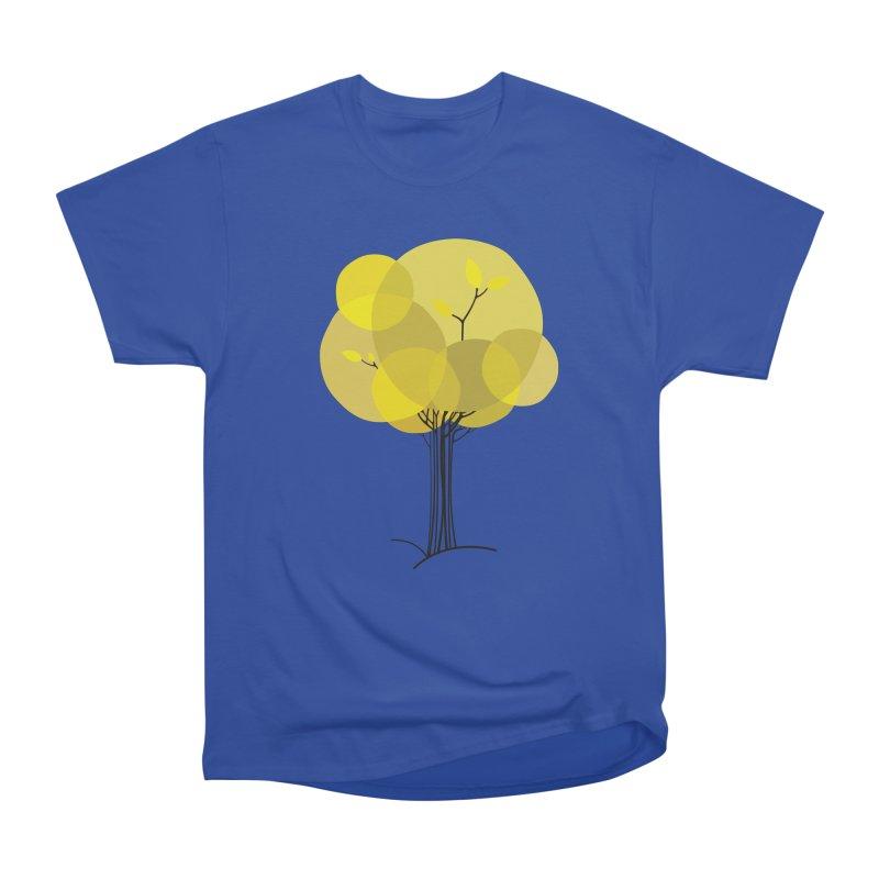 Autumn tree Men's Heavyweight T-Shirt by YANMOS