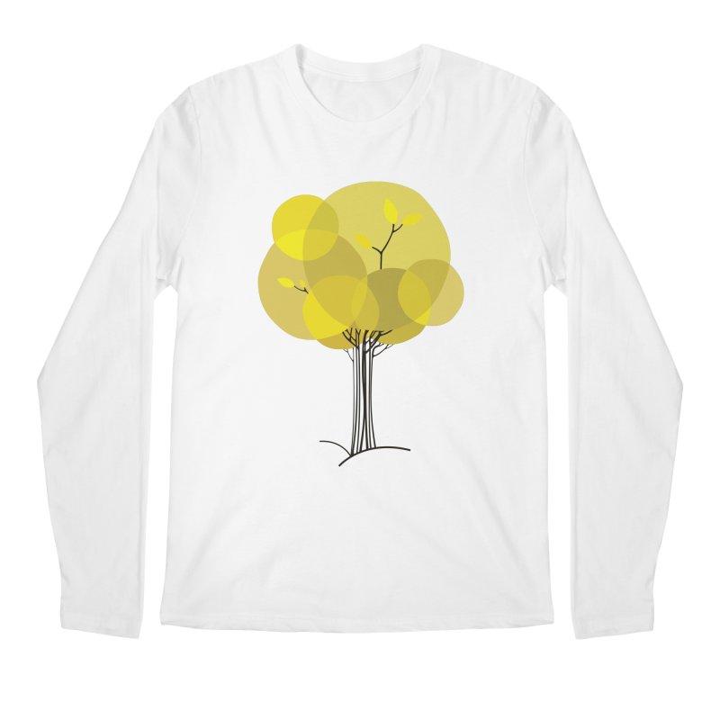 Autumn tree Men's Regular Longsleeve T-Shirt by YANMOS