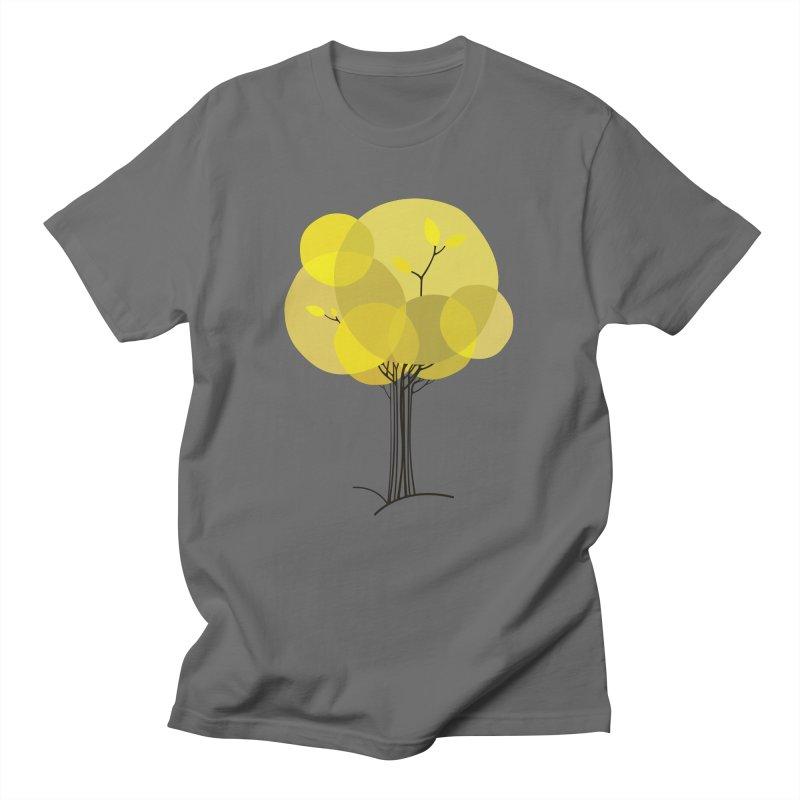 Autumn tree Men's T-Shirt by YANMOS