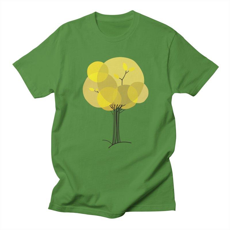 Autumn tree Women's Regular Unisex T-Shirt by YANMOS