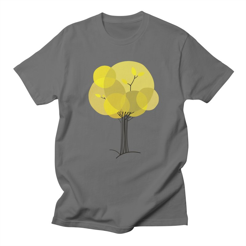 Autumn tree Men's T-Shirt by YANMOS