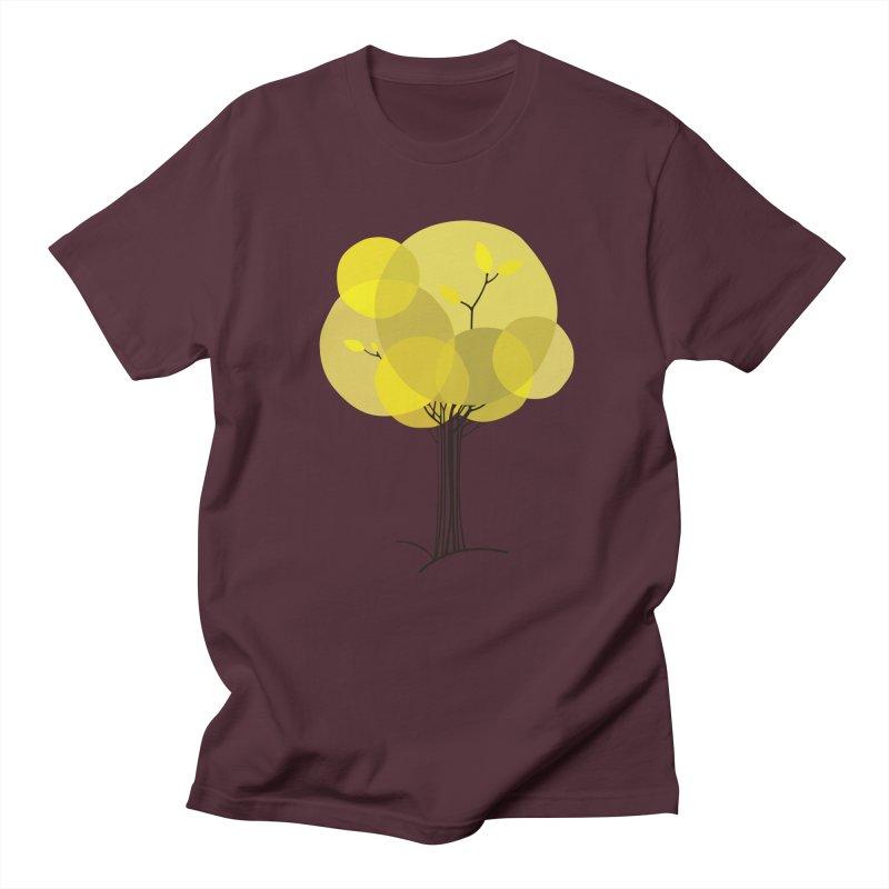 Autumn tree Men's Regular T-Shirt by YANMOS