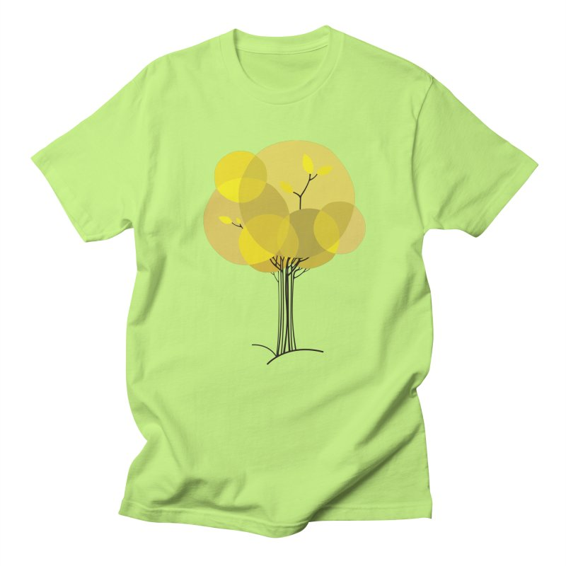 Autumn tree Women's Unisex T-Shirt by YANMOS