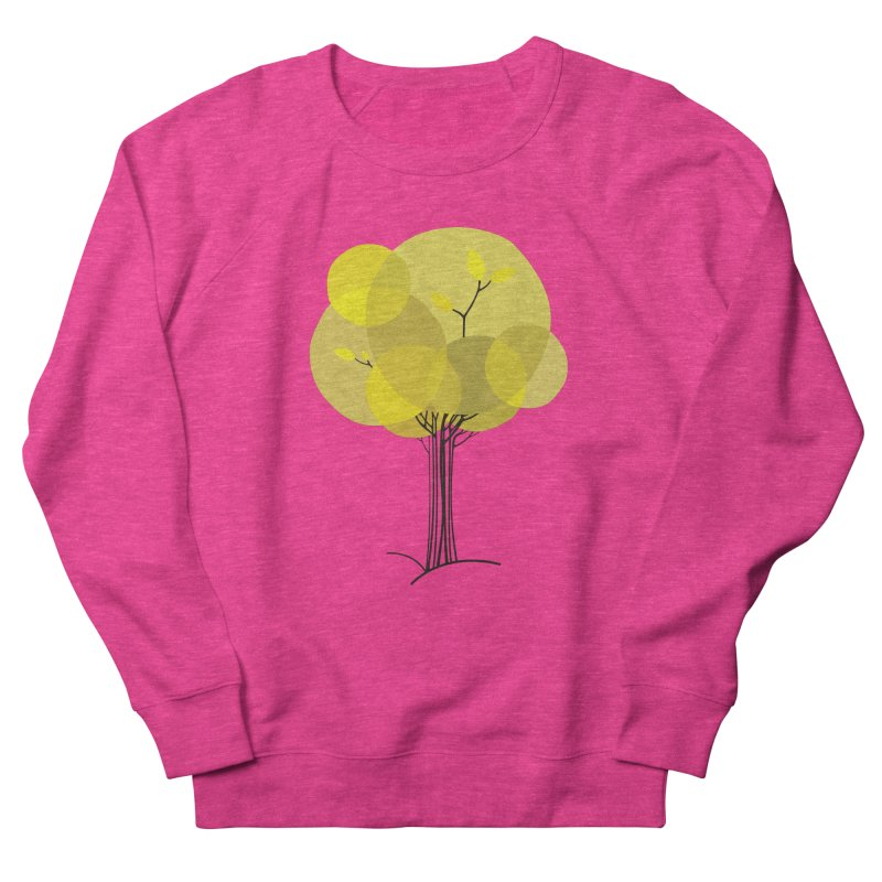 Autumn tree Women's French Terry Sweatshirt by YANMOS