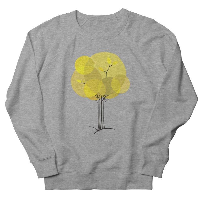 Autumn tree Men's French Terry Sweatshirt by YANMOS
