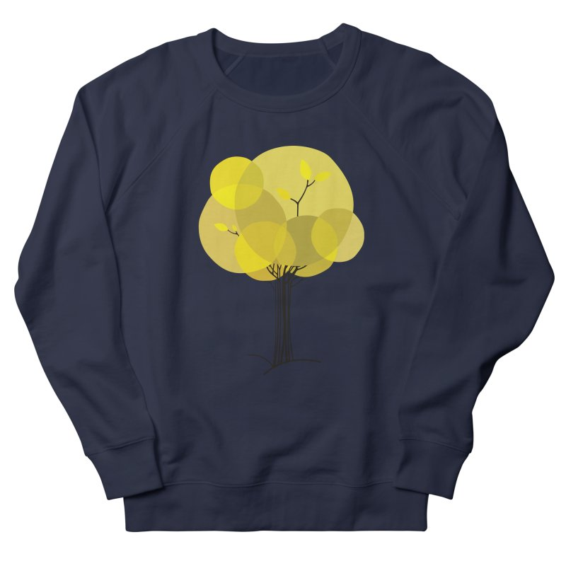 Autumn tree Men's French Terry Sweatshirt by YANMOS